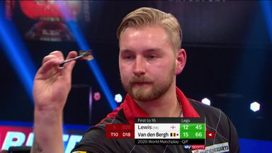 VDB reaches semis on Matchplay debut