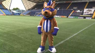 Meet Killie's new mascot Captain Conker!