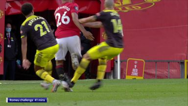 'Romeu challenge on Greenwood wasn't a red'