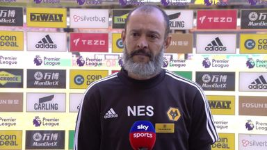 Nuno pleased with performance