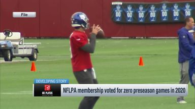 NFLPA members vote for no preseason
