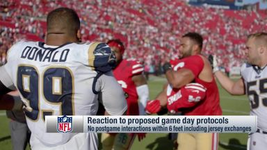 'Protocols necessary for NFL season'