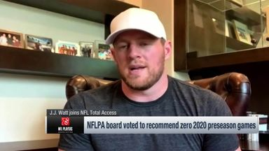 J.J. Watt feels for undrafted free agents