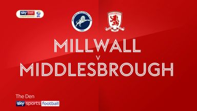Millwall 0-2 Middlesbrough
