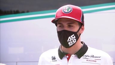 Giovinazzi: We support fight against racism