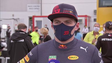 Max reacts to pre-race incident
