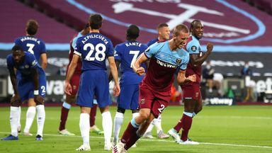 HT West Ham 1-1 Chelsea