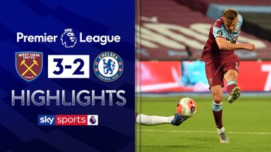 Hammers stun Chelsea after VAR drama
