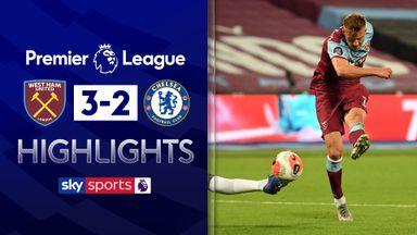 Hammers stun Chelsea after VAR drama