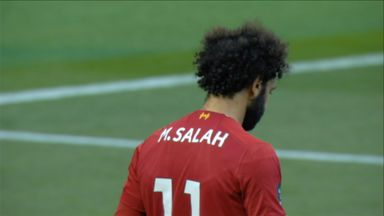 Salah off the post! (19)