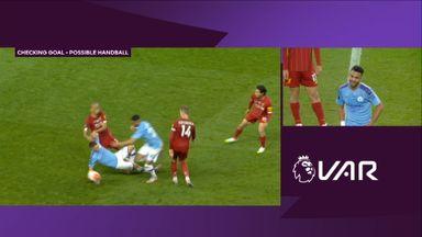 Mahrez goal ruled out by VAR (90)
