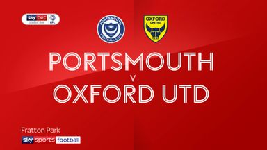 Portsmouth 1-1 Oxford