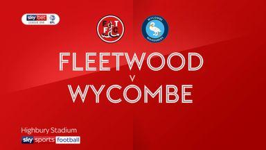 Fleetwood 1-4 Wycombe