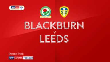 Blackburn 1-3 Leeds