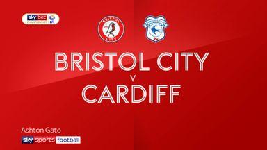 Bristol City 0-1 Cardiff