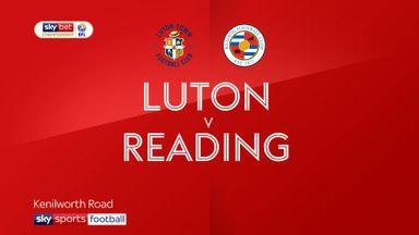 Luton 0-5 Reading