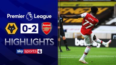 Saka and Lacazette secure win at Wolves