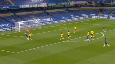 Foster saves from Giroud (19)
