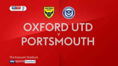 Oxford 1-1 Portsmouth (Oxford win 5-4 on pens)