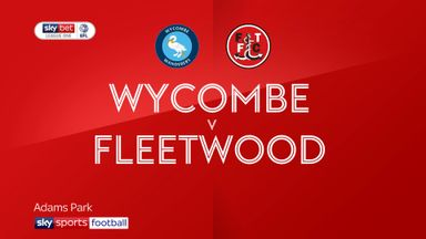 Wycombe 2-2 Fleetwood (6-3 agg)