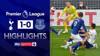 Spurs edge past Everton