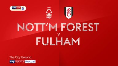 Nottingham Forest 0-1 Fulham