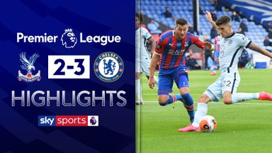 Chelsea hold on to beat Palace