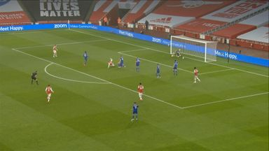 Super double save from Schmeichel (32)