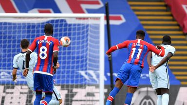 Zaha's 65mph screamer from all angles