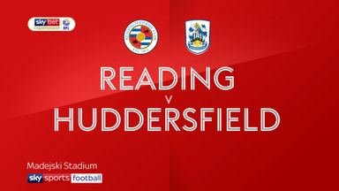Reading 0-0 Huddersfield