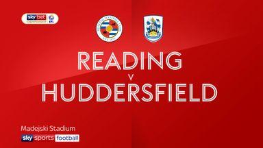 Reading 0-0 Huddersfield