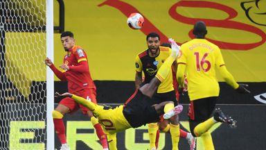 Welbeck's stunning overhead kick