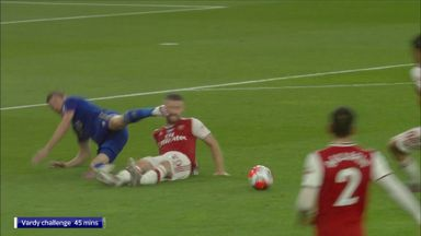 Should Vardy have seen red?