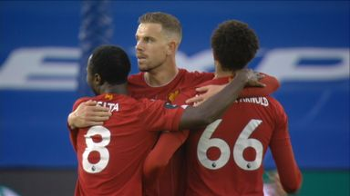 HT Brighton 1-2 Liverpool