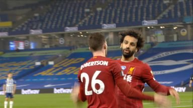 Salah heads in Liverpool's third (76)