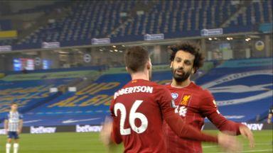 Salah heads in Liverpool's third (76)