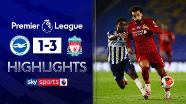 Salah double sinks resilient Brighton