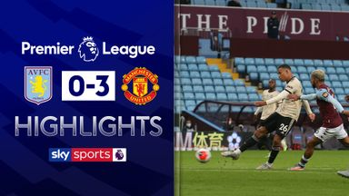 Man United cruise past Villa