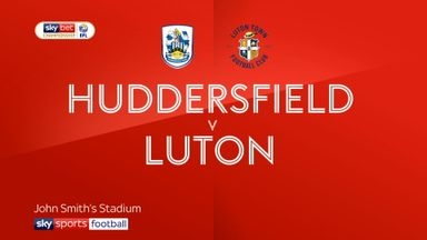 Huddersfield 0-2 Luton