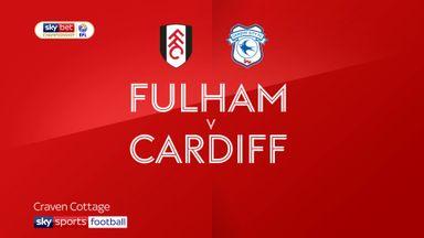 Fulham 2-0 Cardiff