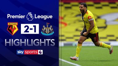 Deeney double sinks Newcastle