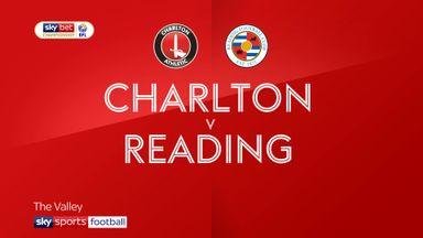 Charlton 0-1 Reading