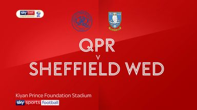 QPR 0-3 Sheffield Wednesday