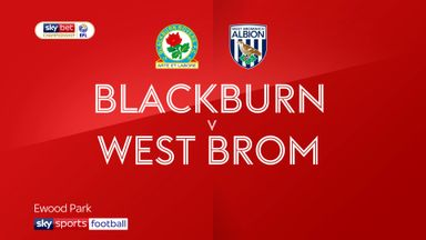 Blackburn 1-1 West Brom
