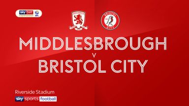 Middlesbrough 1-3 Bristol City