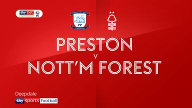 Preston 1-1 Nottingham Forest