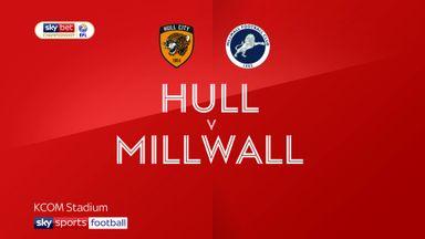 Hull 0-1 Millwall