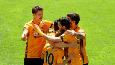 HT Wolves 1-0 Everton