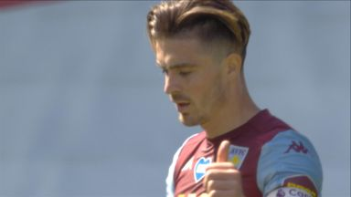 Guaita saves from Grealish (38)