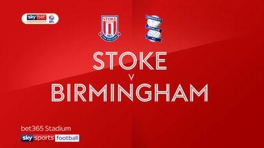 Stoke 2-0 Birmingham